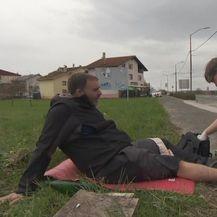 Riječaninu Saši Pavliću u pomoć stigao fizioterapeut (Foto: Dnevnik.hr)