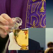 Crkveni skandal u Splitu (Video: Vijesti Nove TV u 14 sati)