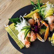 Sashimi od škampa