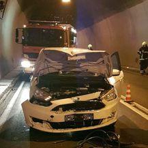 Prometna nesreća u tunelu Učka (Foto: Naša Bujština)