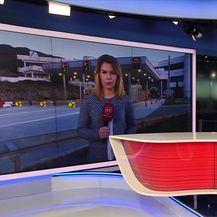 Petra Fabian Kapov uživo o padu ventilatora u tunelu Učka (Video: Dnevnik Nove TV)