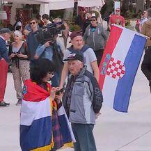 Prosvjed protiv istanbulske konvencije u Splitu (Foto: Dnevnik.hr)