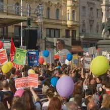 Prosvjedi koji su se u proteklih par godina dogodili u Hrvatskoj (Foto: Dnevnik.hr) - 1