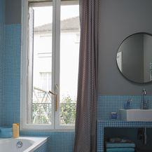 Kupaonice sa zidnim pločicama u boji - 8