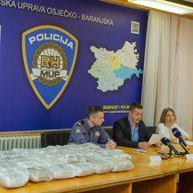 Zaplijenjena droga (Foto: Dubravka Petric/PIXSELL)