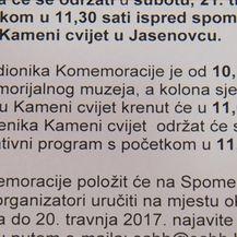 Bojkot službene komemoracije u Jasenovcu (Video: Dnevnik Nove TV)