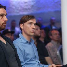 Tomislav Šokota i Dario Šimić (Foto: Dalibor Urukalović/PIXSELL)