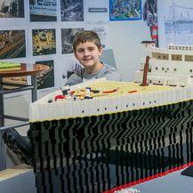 10-godišnjak s autizmom izgradio najveću repliku Titanica od lego-kockica (Foto: icelandmonitor.mbl.is/Árni Sæberg)
