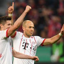 Slavlje igrača Bayerna (Foto: AFP)