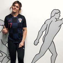 Sandra Perković u dresu hrvatske reprezentacije