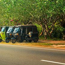 Šri lanka: 3 km vožnje taksijem