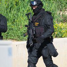 Policajci na mjestu pucnjave (Foto: Ivo Cagalj/PIXSELL)