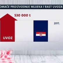 Uvoz mlijeka i sira u porastu (Foto: Dnevnik.hr) - 1