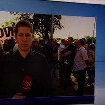 Stipe Antonijević uživo iz Brezovice (Video: Vijesti u 17 h)