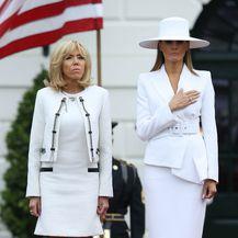 Melania Trump i Brigitte Macron - 7