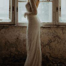Kampanja za novu kolekciju Lukabu vjenčanica snimljena u zaboravljenoj vili Batory u Osijeku - 9