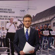 Skup upozorenja sindikata na Markovu trgu (Video: Vijesti u 17 h)