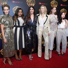 Sarah Paulson, Mindy Kaling, Sandra Bullock, Cate Blanchett, Anne Hathaway i Awkwafina