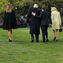 Prisnost Donalda Trumpa i Emmanuela Macrona koja je mnogima zapela za oko (Foto: Getty Images) - 5