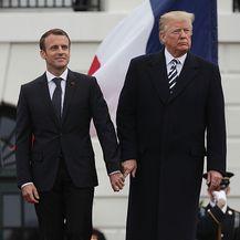 Prisnost Donalda Trumpa i Emmanuela Macrona koja je mnogima zapela za oko (Foto: Getty Images) - 7
