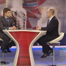Ministar Zdravko Marić gost Dnevnika Nove TV (Foto: Dnevnik.hr) - 2