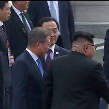Povijesni susret dviju Koreja (Video: APTN)