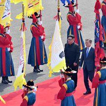 Povijesni susret dviju Koreja (Foto: Getty Images)