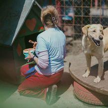 Udruga Pobjede iz Osijeka svake godine organizira proslavu Praznika rada u azilu za pse - 1