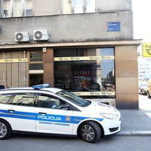 Opljačkana pošta u Zvonimirovoj ulici u Zagrebu (Foto: Petar Glebov/PIXSELL)