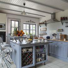 Ideje za uređenje kuhinje u plavoj boji - 9
