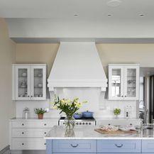 Ideje za uređenje kuhinje u plavoj boji - 10