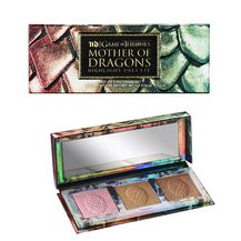 Paleta Mother of Dragons Highlight Palette sadrži tri nove nijans ehighlightera Afterglow