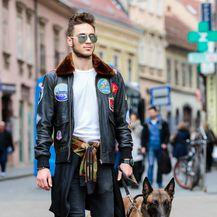Danielov street style vrlo je urban i mladenački