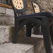 Stolice u ugostiteljskom objektu u Dubrovniku (Foto: Dnevnik.hr) - 2