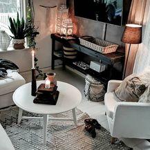 Dom u kojem bitnu ulogu igraju crno-bijeli detalji