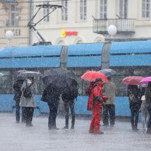 Jako nevrijeme s kišom i tučom pogodilo Zagreb (Foto: Patrik Macek/PIXSELL) - 3
