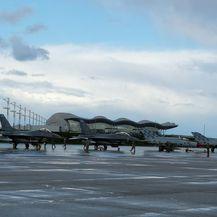 Američki avioni F-16 na Plesu (Foto: MORH)