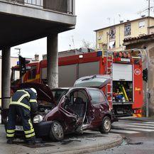 Prometna nesreća u Puli (Foto: Pixsell, Dusko Marusic) - 1