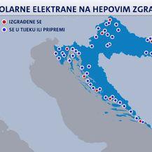 Solarne elektrane na HEP-ovim zgradama (Foto: Dnevnik.hr)