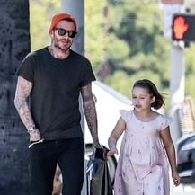 David Beckham, Harper Beckham (Foto: Profimedia)