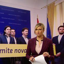 Živi zid želi ukinuti financiranje stranaka iz državnog proračuna (Video: Dnevnik Nove TV)