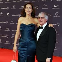 Slavica i Bernie Ecclestone (Foto: AFP)