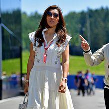Bernie Ecclestone i Fabiana Flosi (Foto: AFP)