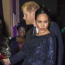 Meghan Markle voli naglašavati svoj trudnički trbuh (Foto: AFP)