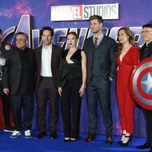 Scarlett u Londonu na prikazivanju filma Avengers: Endgame