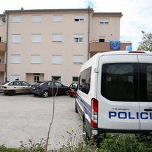 Zgrada u kojoj je muškarac priveden zbog obiteljskog nasilja (Foto: Miranda Cikotić(PIXSELL)