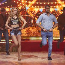 Ples sa zvijezdama, Damir Kedžo i Helena Janjušević(Foto: Nova TV)