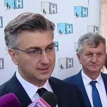 Plenković o bolnici u Blatu (Video: Dnevnik.hr)