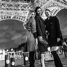Izabel Kovačić u Parizu (Foto: Instagram)