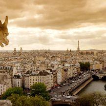 Notre-Dame poznata je po gargojlima, skulpturama na fasadama katedrale koja su u obliku mitskih bića čuvala katedralu